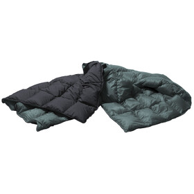 Yeti Duvet Packable Down Blanket 200x140cm ash coal/british racing green
